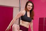 肥胖大学生钢管舞减肥变健身教练